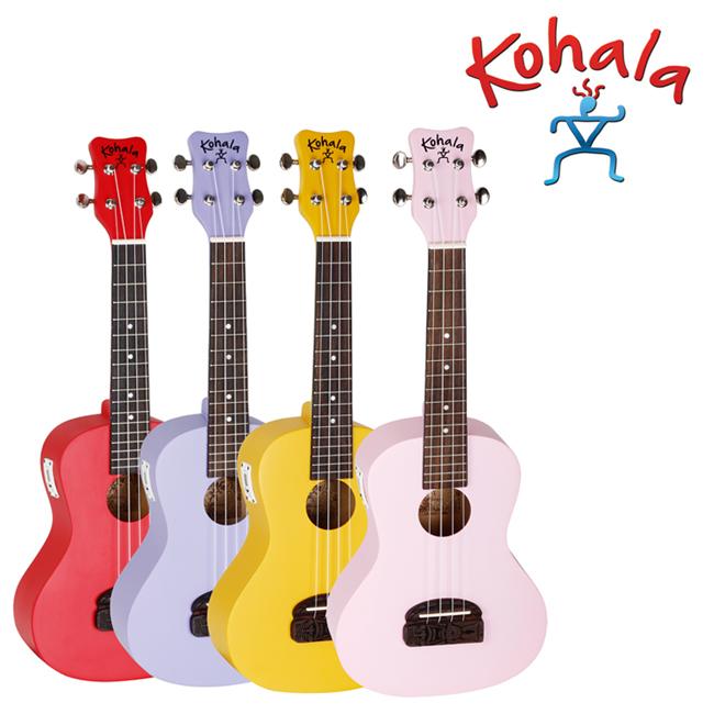 (입문용 우쿨렐레)Kohala Tiki 콘서트(튜너 내장)