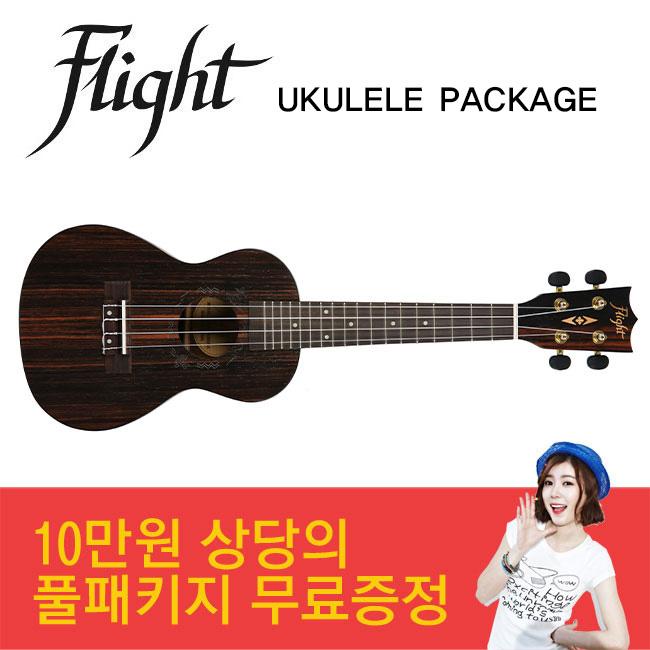 [입문용 우쿨렐레] Flight DUC460 AMARA 콘서트 우쿨렐레 최강패키지