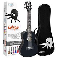 <font color=#262626>Octopus 콘서트 우쿨렐레 - Solid Black</font>
