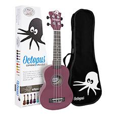 <font color=#262626>Octopus 소프라노 우쿨렐레 - Solid Purple</font>