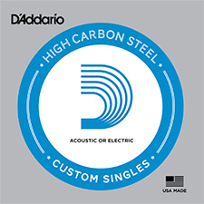 <font color=#262626>Daddario High Carbon Steel Single String / 다다리오 낱줄 (게이지 선택)</font>
