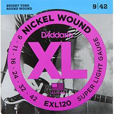Daddario - XL Nickel Super Light / 일렉기타 스트링 009-042 (EXL120)