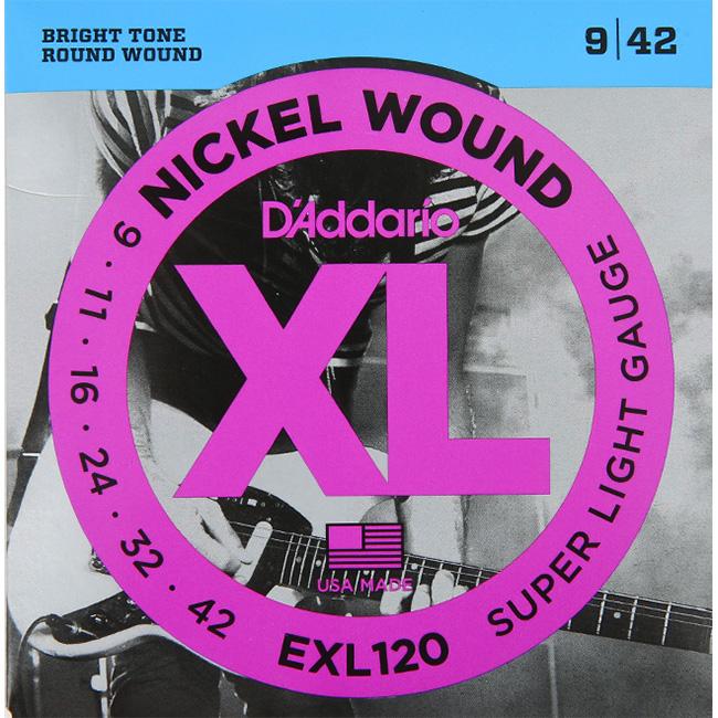 Daddario EXL120 (009-042) 다다리오 일렉기타줄 니켈