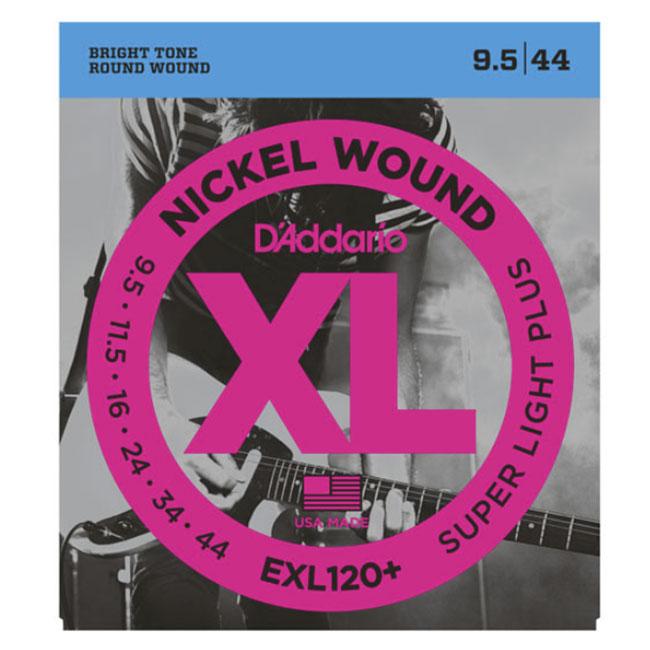 Daddario EXL120 Plus (9.5-44) 다다리오 일렉기타 스트링