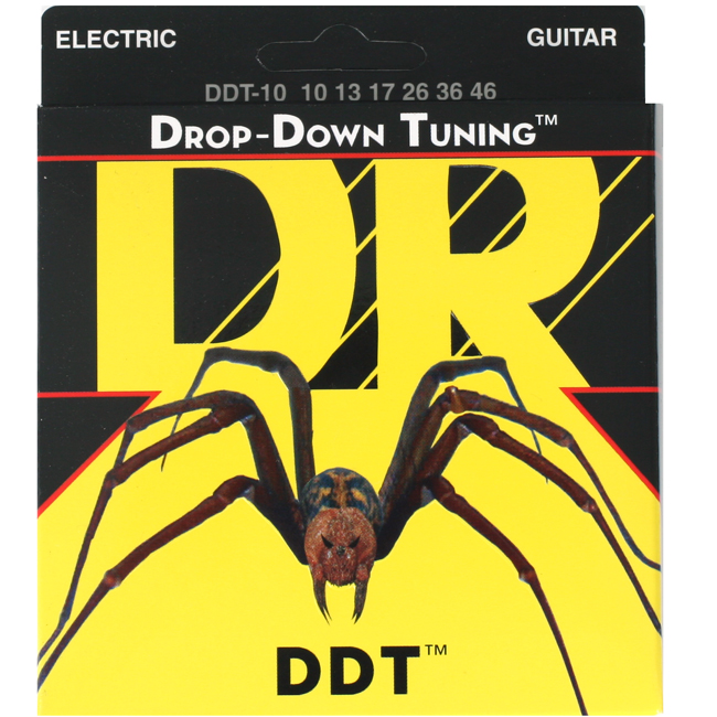 DR Drop Down Tuning 일렉기타줄 DDT-10(010-046)다운튜닝용