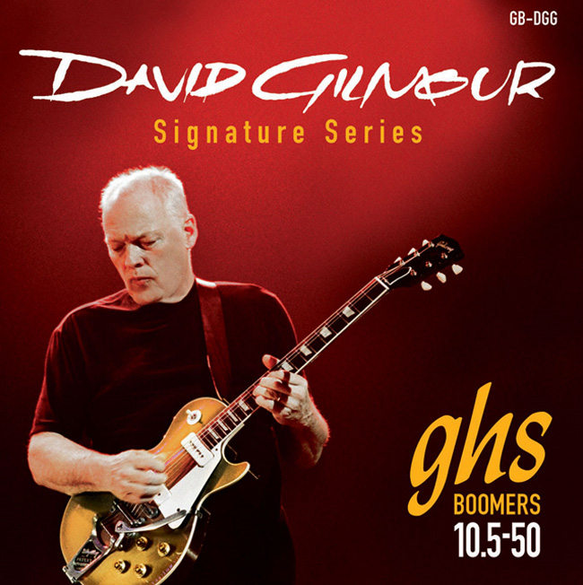 GHS Boomers DAVID GILMOUR SIGNATURE 010-050(GB-DGG)