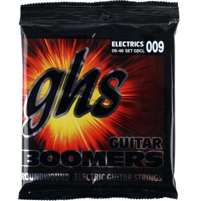 GHS Boomers GBCL Custom Light (009-046) 일렉기타줄
