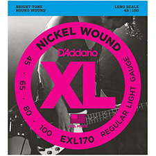 [공식수입정품]<br>Daddario - XL Nickel Regular Light Long Scale / 베이스 스트링 045-100 (EXL170)