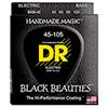 DR Black Beautles 045-105  블랙 코팅 스테인레스 베이스 스트링 (BKB-45)