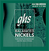 GHS Balanced Nickels - Medium / 베이스스트링 044-106 (4M-NB)