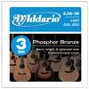 Daddario EJ16-3D (012-053) 3Sets 다다리오 통기타줄 3셋트