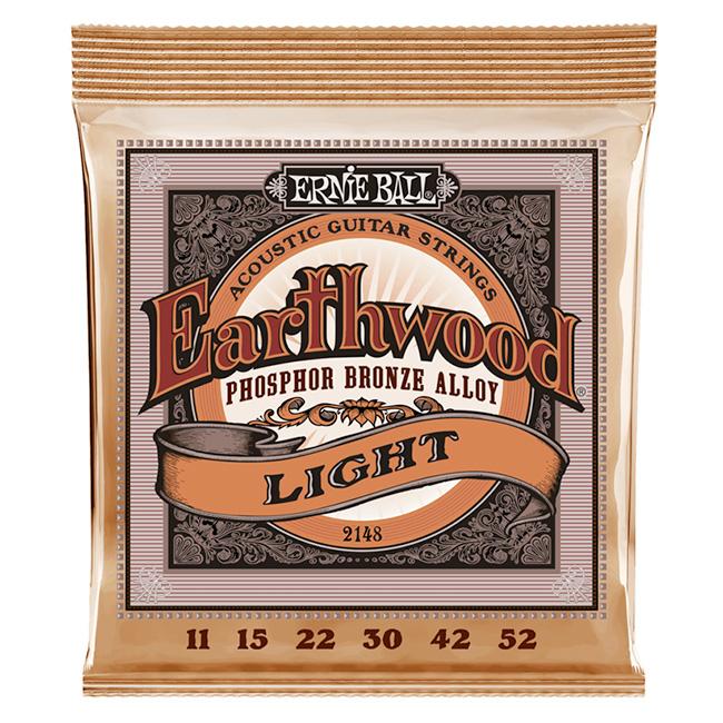 Ernieball - Earthwood Phosphor Bronze Light / 어니볼 통기타 스트링 011-052 (P02148)