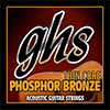 GHS Thin Core Phosphor Bronze - Light / 어쿠스틱 기타 스트링 012-052 (TCB-L)