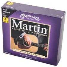 <font color=#262626>Martin M175 3Pack / 마틴 통기타줄 3세트</font>