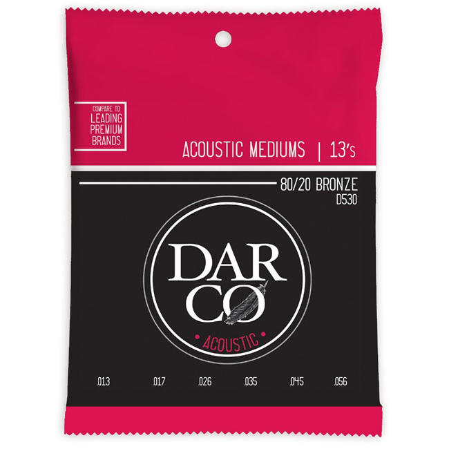 Martin Darco® Acoustic 80/20 Bronze 013-056 (D530)