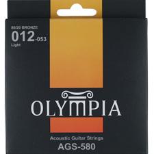 <font color=#262626>Olympia AGS580 Bronze80/20 어쿠스틱기타스트링(012-053)</font>