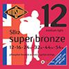 RotoSound SUPER BRONZE / 로토사운드 포스포브론즈 컨텍트 코어 통기타스트링 012-054 (SB12)