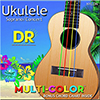 DR Ukulele Multi Color Srtings / 우쿨렐레 컬러 스트링 (MC2624)