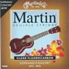 Martin Clear Fluorocarbon (M600) 소프라노/콘서트 마틴 우쿨렐레/우쿨렐레 줄