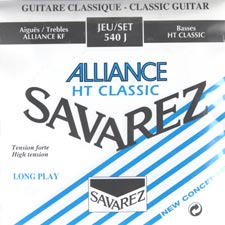 Savarez Alliance HT Classic 540J 클래식기타줄(High tension)