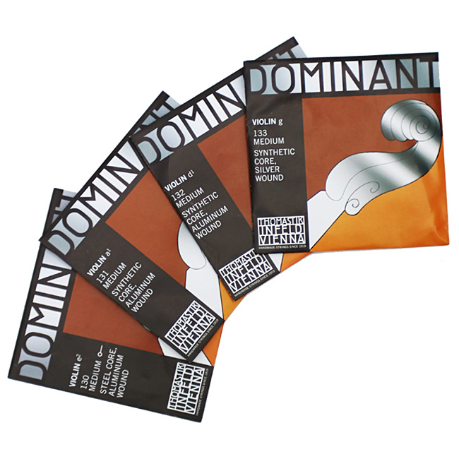 Dominant Violin 도미넌트 바이올린현 낱줄 (게이지선택가능)