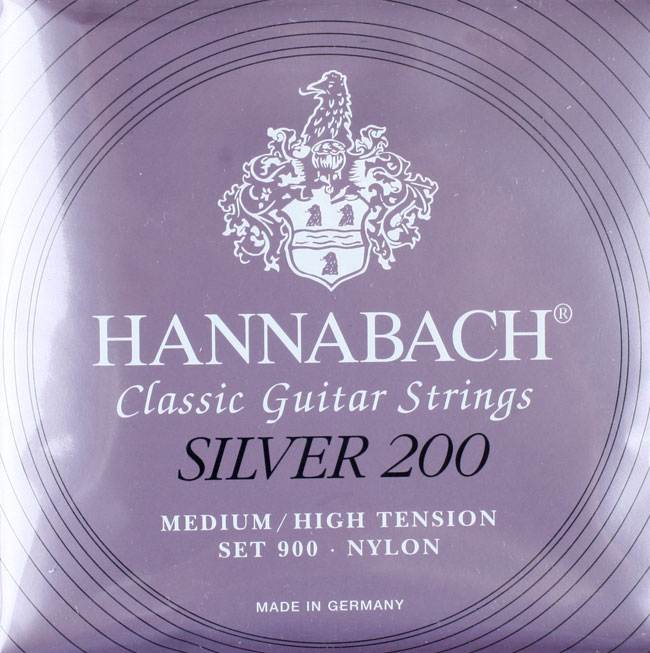 Hannabach Silver200 Medium High Tension 900MHT Ŭ���ı�Ÿ��