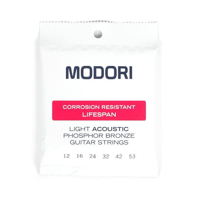 MODORI - 모도리 M.P.L 코팅 Phosphor Bronze 어쿠스틱 기타 스트링 012-053 (CAP-001)