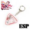 [ESP 콜라보레이션 한정판]<br>ESP BanG Dream Poppin Party<br>Kasumi Toyama 피크 키홀더<br>Limited Edition