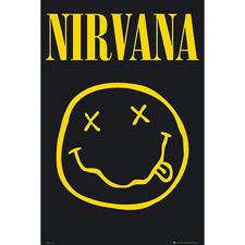 <font color=#262626>Nirvana - Smiley 너바나 포스터 (LP-1416)</font>