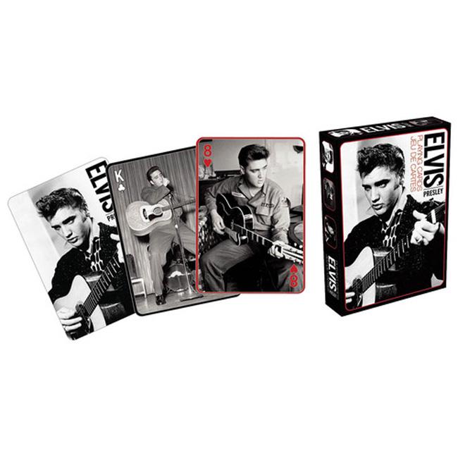 Elvis Presley - Black & White 엘비스 프레슬리 트럼프 카드 (C00114572)