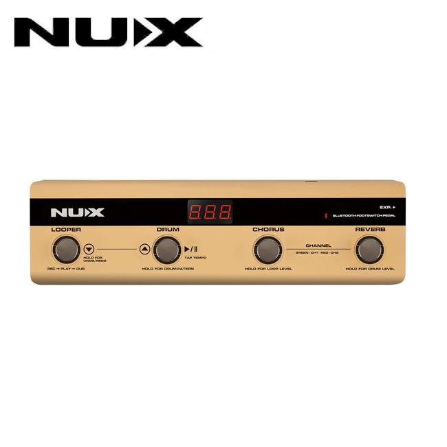 Nux Foot Controller for Stageman / 스테이지맨 전용 블루투스 컨트롤러 (NMP-4)