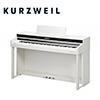 Kurzweil Andante CUP-310 WH 디지털 피아노 (전용의자, 젠하이저 HD206 헤드폰증정)