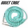 Bullet Cable - Coil Cable Seafoam (BC-30CCSEA) / 9.4m