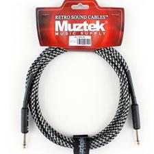 <font color=#262626>Muztek Retro Sound 기타&베이스 케이블(RS300 BS) 3m</font>