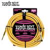 Ernie Ball BRAIDED 기타 & 베이스 케이블 / 7.6m 골드 (PO6070)