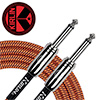 Kirlin Entry Woven Instrument Cable 3m<br>(IWCC-201PN/ORA)