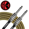 Kirlin Entry Woven Instrument Cable 3m<br>(IWCC-201PN/BYA)
