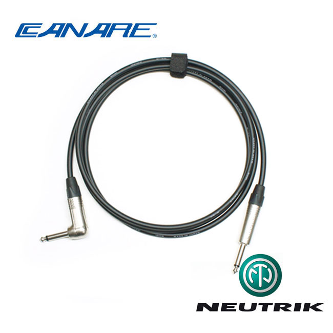 [Custom Cable]<br>Canare GS-6 & Neutrik<br> 커스텀 기타 케이블 3m / Right Angle (CN6-TSR03)