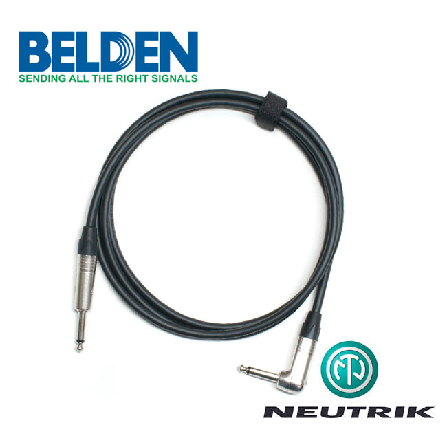 [Custom Cable]<br>Belden 50974 & Neutrik<br>커스텀 기타 케이블 10m / Right Angle (BN-74TSR10)