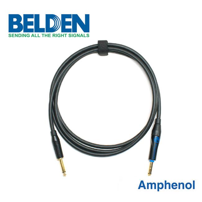 [Custom Cable]<br>Belden 50974 & Amphenol 사일런트<br>커스텀 기타 케이블 3m (BA-74S03)