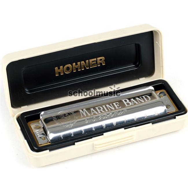 Hohner MarineBand1896 호너 마린밴드 하모니카 (F Key)