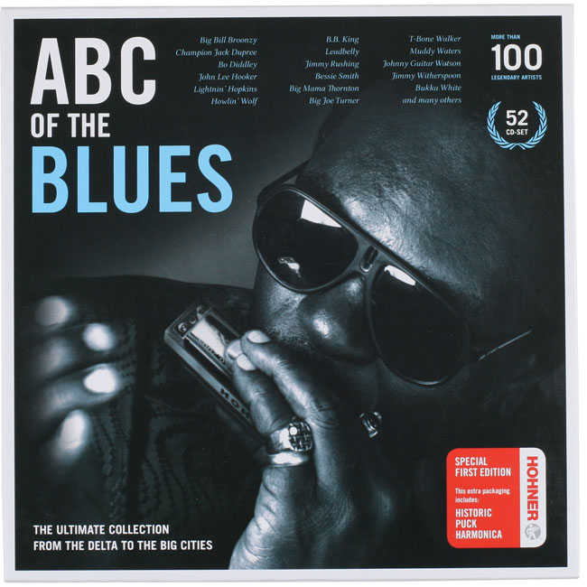 [한정수량특가] ABC OF THE BLUES CD BOX SET
