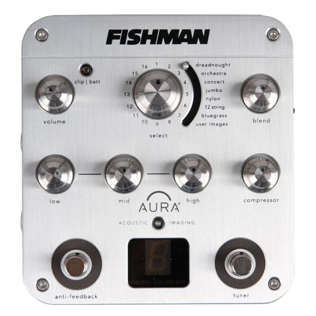 Fishman Aura Spectrum DI 어쿠스틱 프리앰프