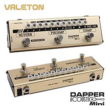 <font color=#262626>[사은품증정] Valeton Dapper Acoustic Mini (MES-4) 4 in 1 Mini Effects Strip(통기타용 4가지 이펙터가 하나에!)</font>