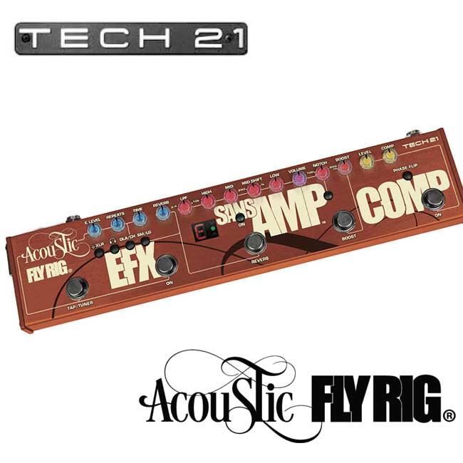 Tech21 Acoustic Fly Rig / 어쿠스틱 플라이릭 멀티이펙터
