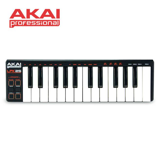 AKAI - LPK25 / 아카이 25-key 미니 마스터키보드