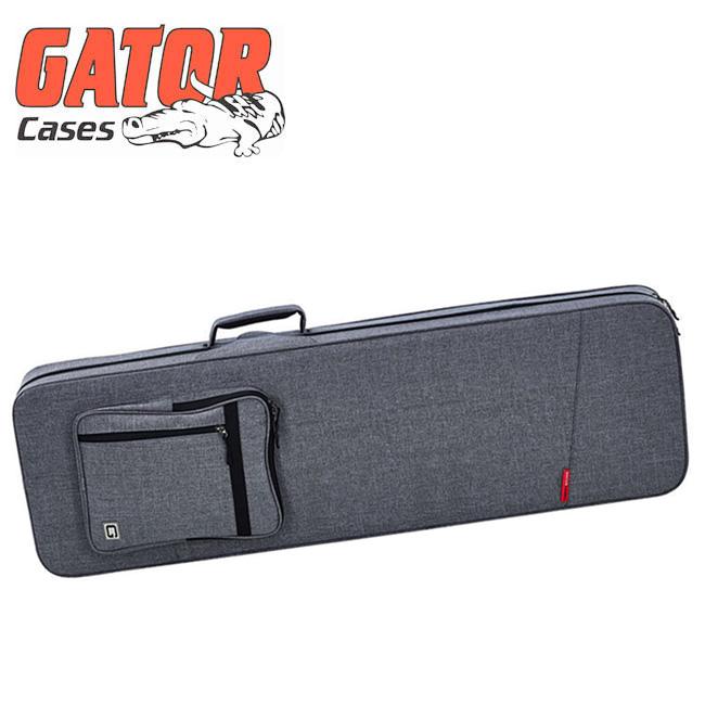 GATOR - Transit Lightweight Bass Guitar Case / 게이터 하이브리드 폼케이스 (GTR-BASS-GRY)