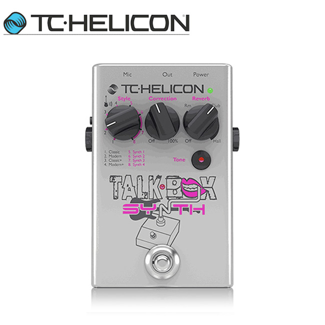 TC HeliconTalkbox Synth 보컬이펙터