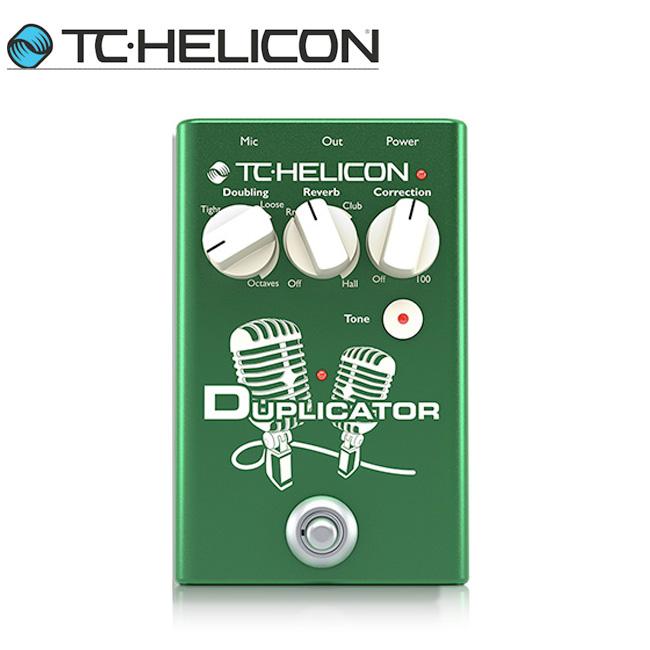 TC Helicon Duplicator 보컬 더블링 & 리버브 이펙터