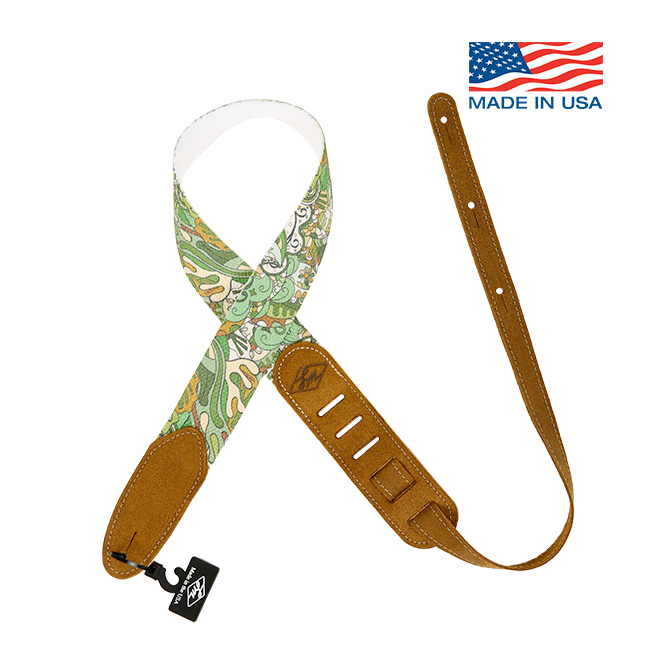 LM Products Woodstock Green / Cotton Strap (WDK-GR)